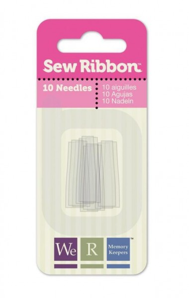 Sew Ribbon Plastic-Needles