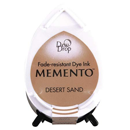 Stempelkissen sand