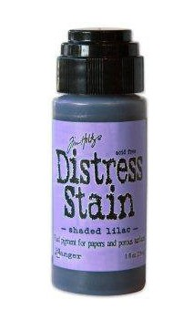 Distress Stain shaded lilac