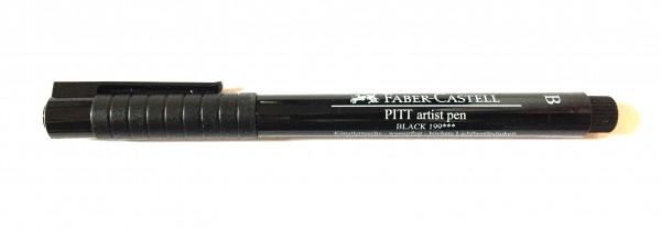 PITT artist pen Stärke B schwarz