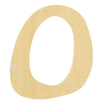 Holzbuchstabe O