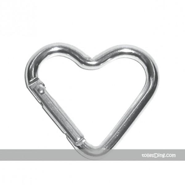5 Karabiner Herzen