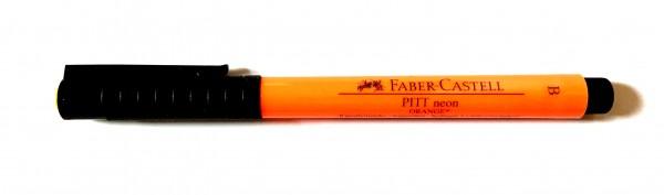 PITT artist pen Stärke B neon orange