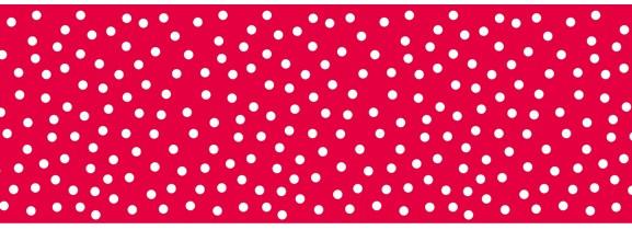 Pack Tape rot mit Punkten