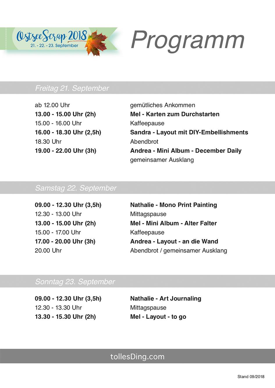 Zeitplan_OstseeScrap_2018