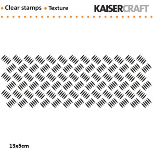Clearstamp Checker Plate