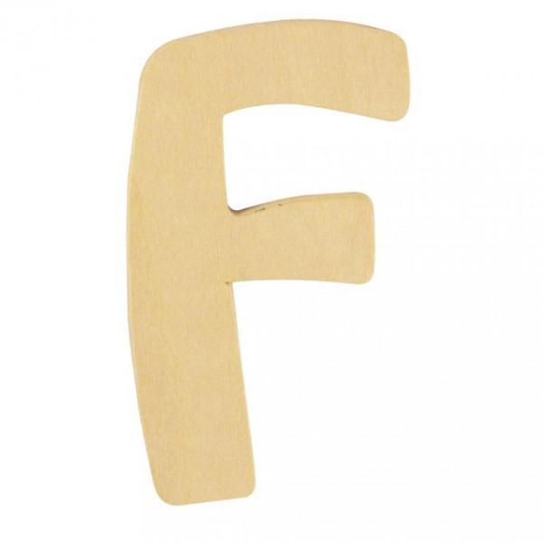 Holzbuchstabe F
