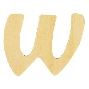 Holzbuchstabe W