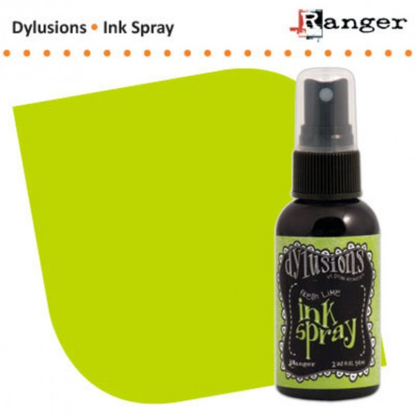 Dylusions Ink Spray Fresh Lime