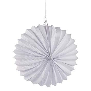 Papier Lampion weiß