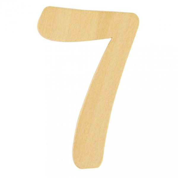 Holzzahl 7