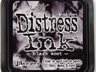 Ranger Distress Ink black soot