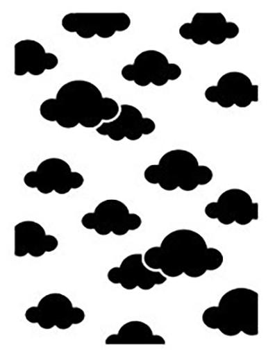 Prägefolder Wolkenhimmel