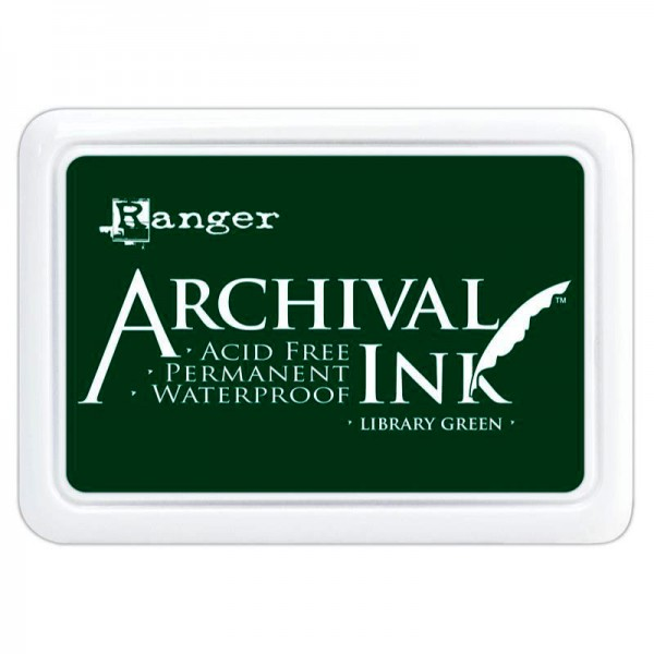 Ranger Archival INK library green