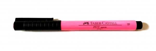 PITT artist pen Stärke B neon pink