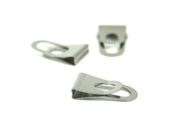 6 Metall Clips