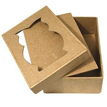 Pappmaché Box Eule