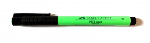 PITT artist pen Stärke B neon grün
