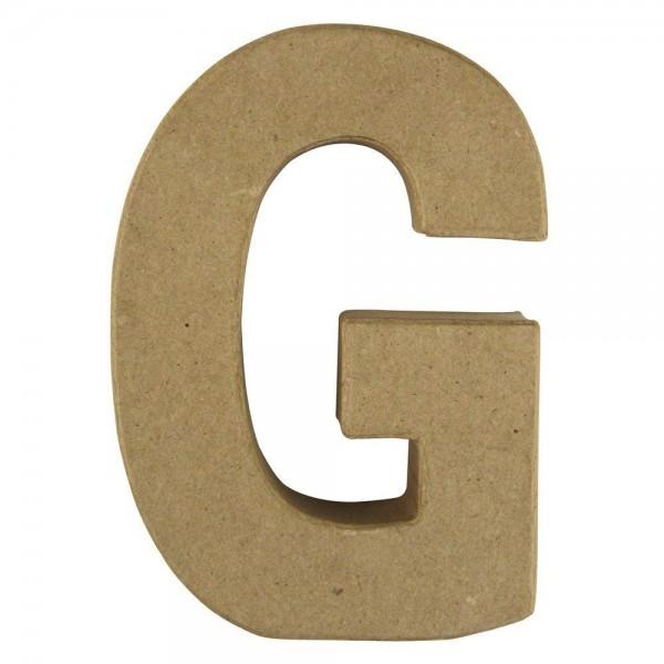 Pappmaché-Buchstabe G