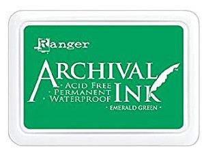 Ranger Archival INK emerald green