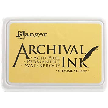 Ranger Archival INK chrome yellow