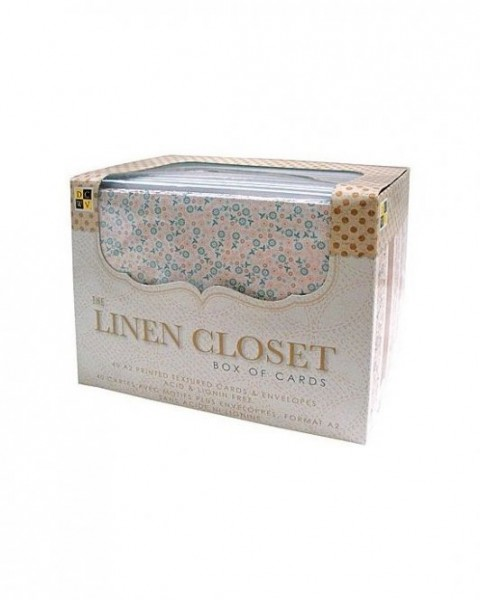 Box of cards Linen Closet