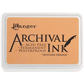 Ranger Archival INK venetian orange