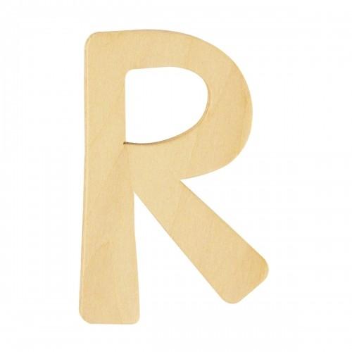 Holzbuchstabe R